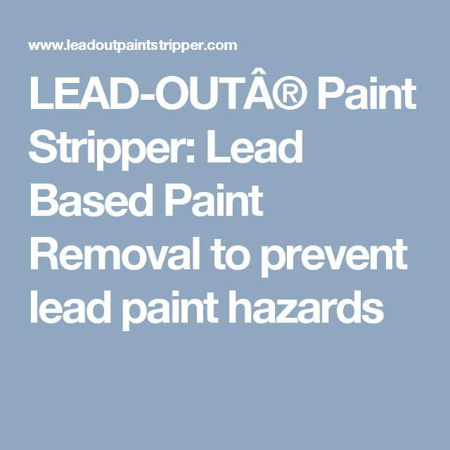 Is Lead Based Paint Dangerous