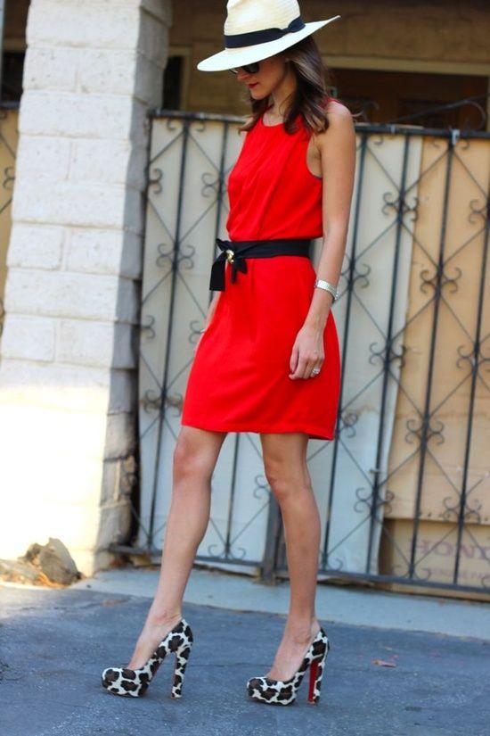 93fbb0c8d93 Red dress | my favorite | Fashion, Dresses, Fashion trends