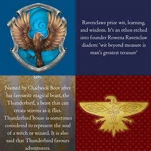 Beautiful 2 Houses Ravenclaw U0026 Thunderbird