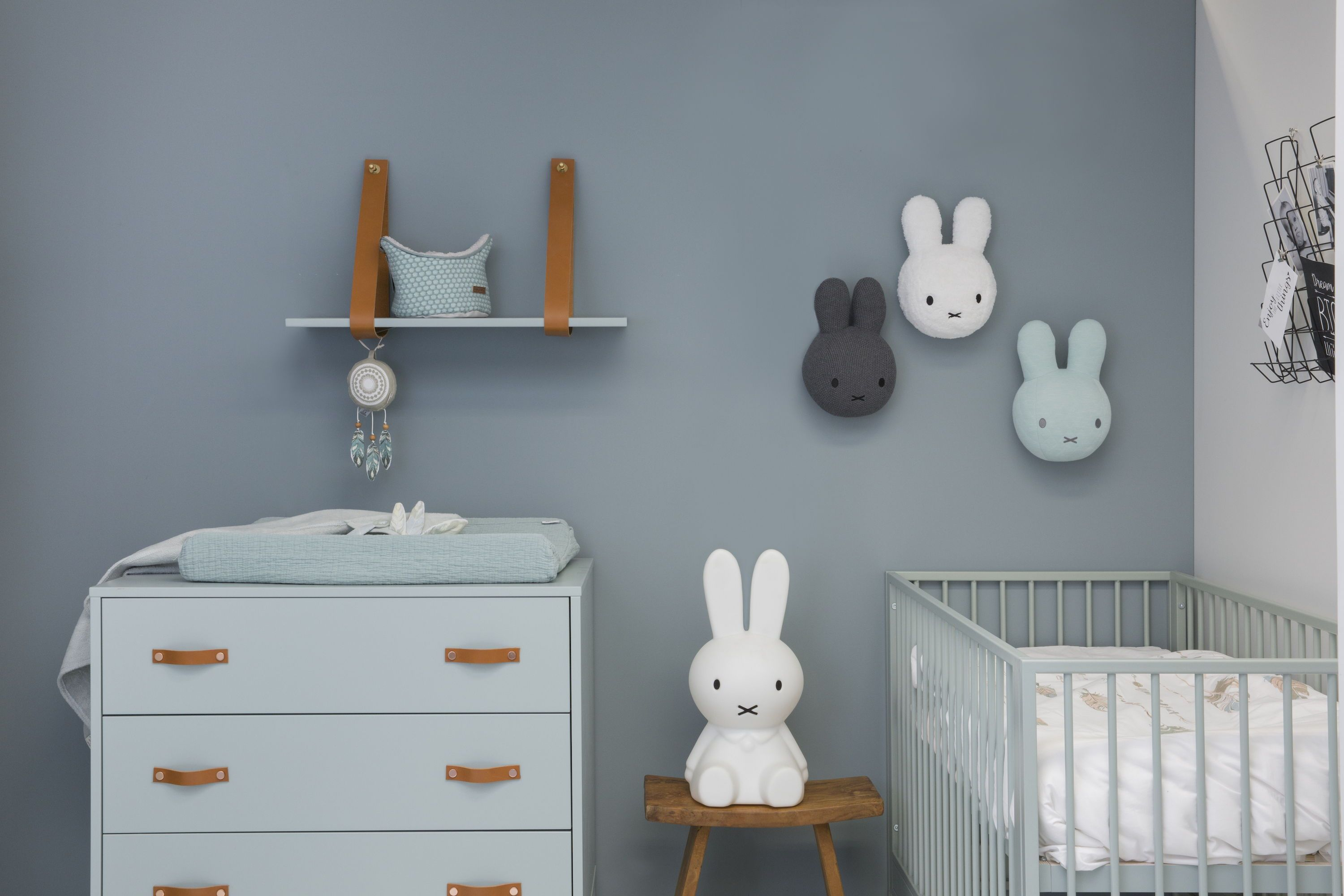 Coming kids babykamer bliss seagreen delig in babykamer
