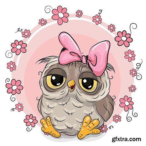 Cute Cartoon Owl Vector Photoshop Psdafter Effects Tutorials Template 3d Cute Owl Cartoon Owl Cartoon Cute Owl
