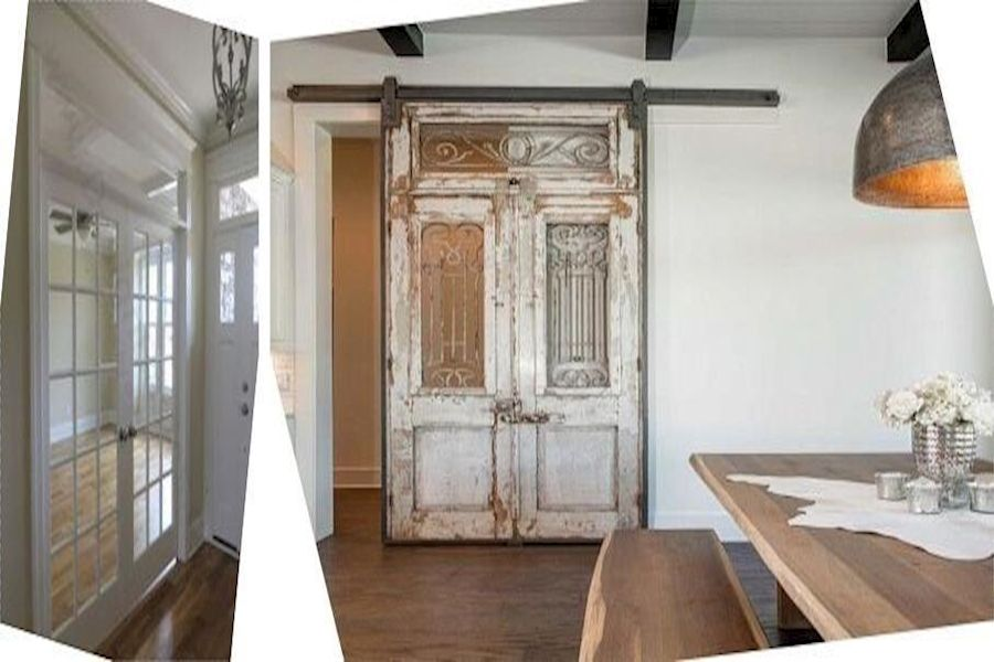 Glazed Doors French Doors Inside Home Interior French Panel
