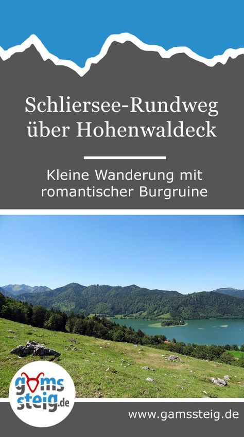 Photo of Schliersee circular route via Hohenwaldeck: hike with romantic castle ruins