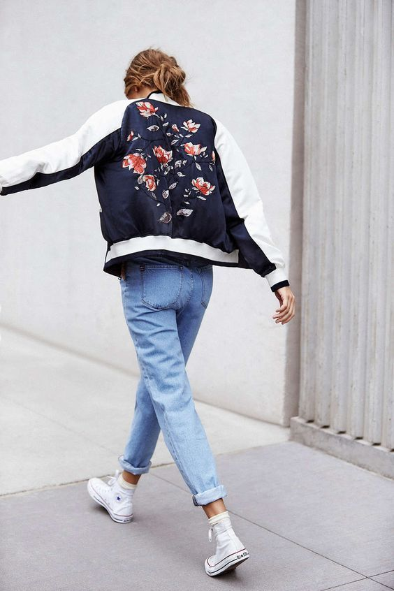 Bomber Jackets For Every Kind Of Style Satin Bomber Jacket Black Women Fashion Clothes