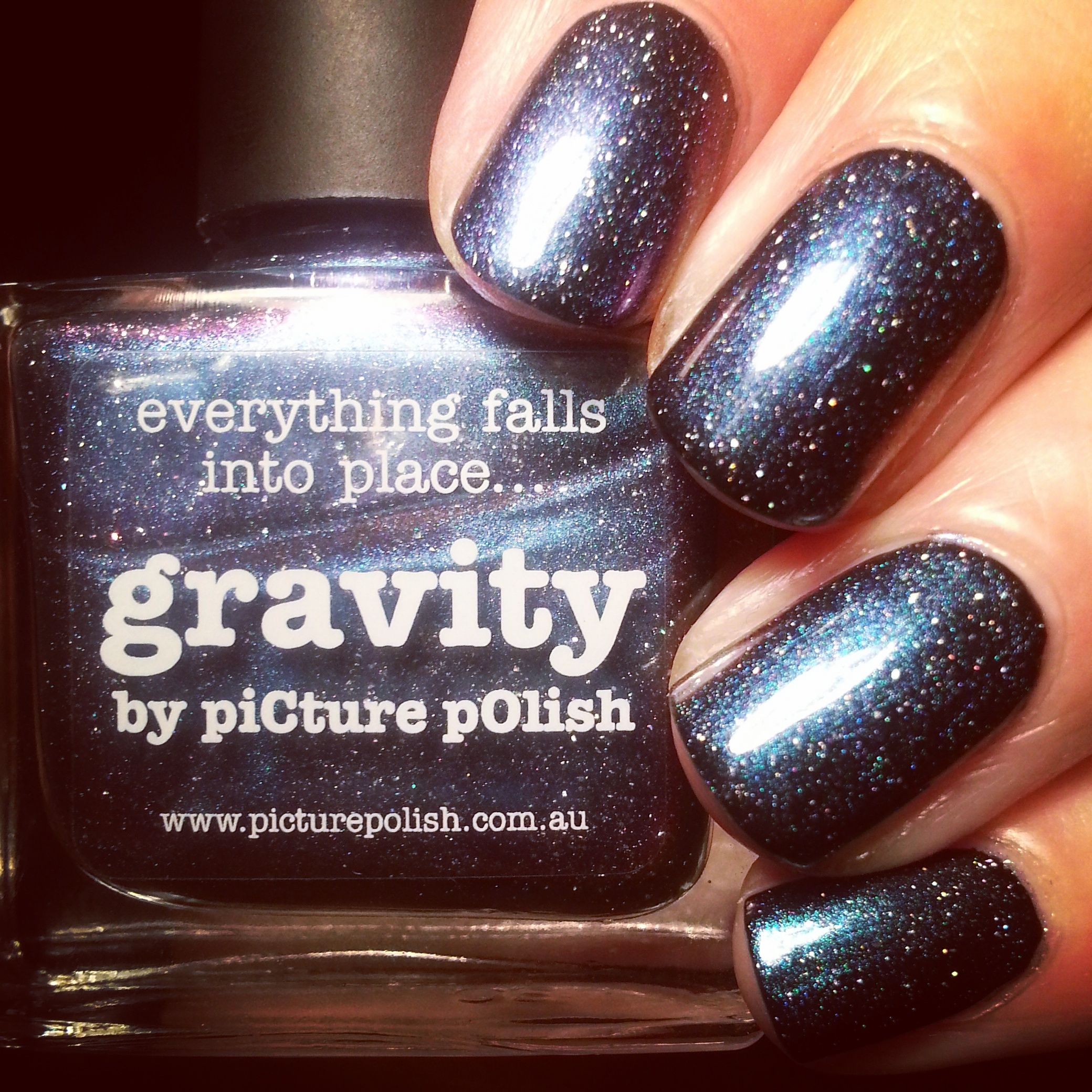 piCture pOlish - Gravity over Nails Inc New York Noir  www.nailtheday.blogspot.co.uk