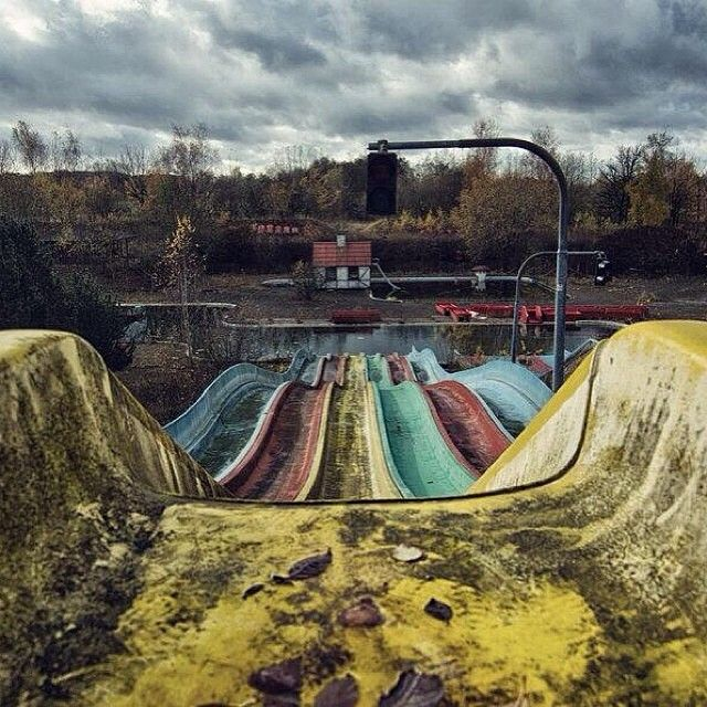 "@earthpix's Photo: ""Abandoned Water Park, Denmark"