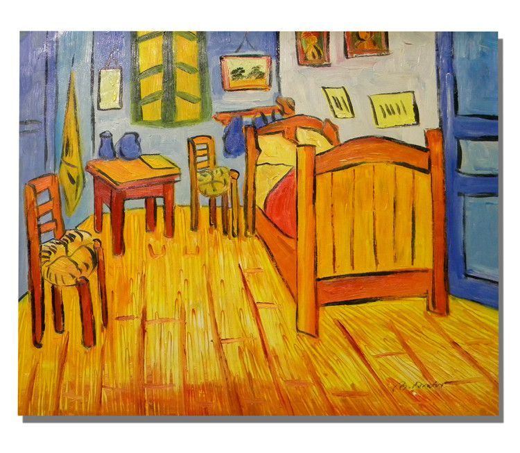 Bedroom at Arles Canvas Wall Art | Bedroom | Pinterest | Canvases