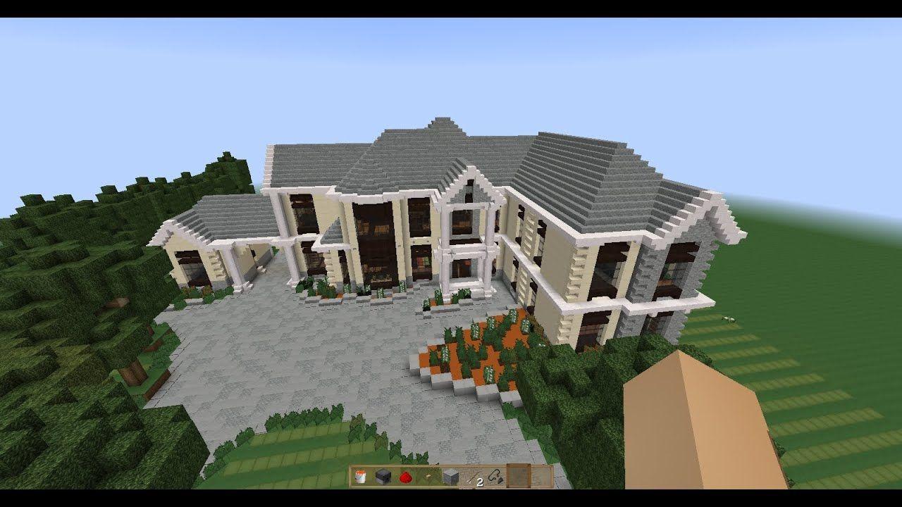 Minecraft Schematic: Mansion Europea - YouTube minecraft mansion