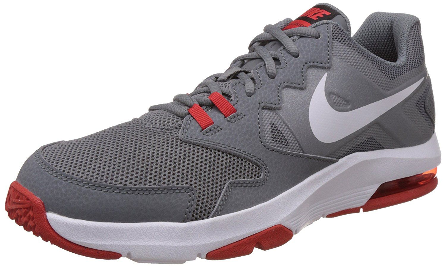 buy popular e1ba1 6ff91 ... greece nike mens air max crusher 2 cross trainer 15 cool grey challenge  red 8be72 69308 purchase amazon ...