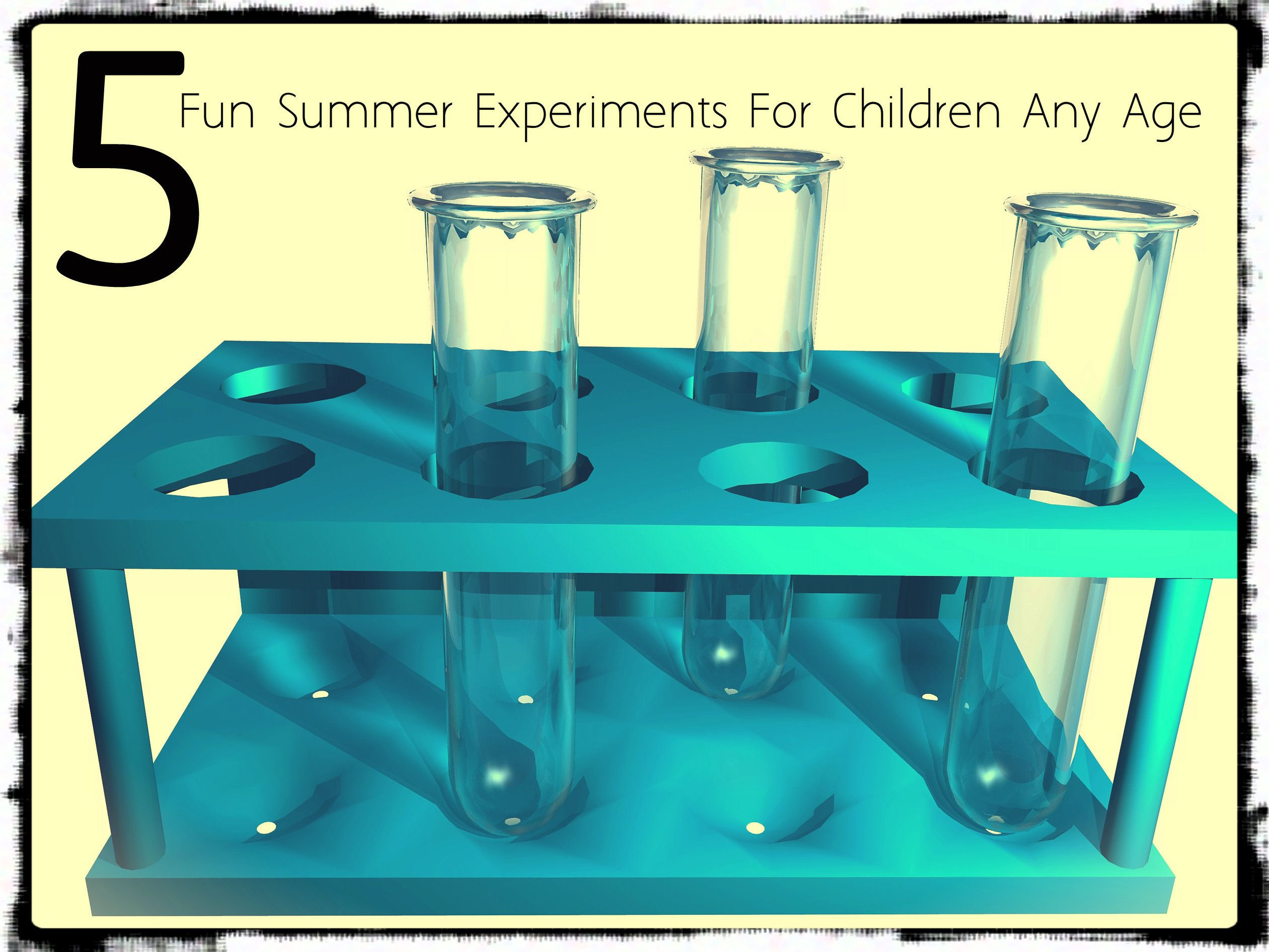 5 Fun Summer Experiments For Children Any Age