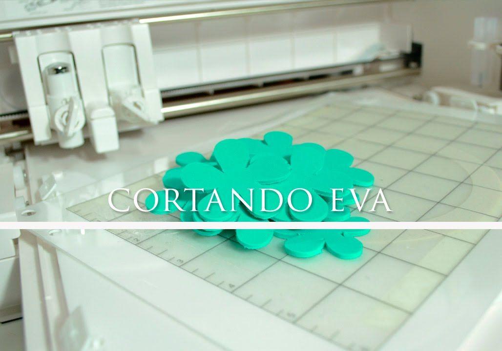 Cortando EVA - Lâmina de corte profundo -  Curio #4