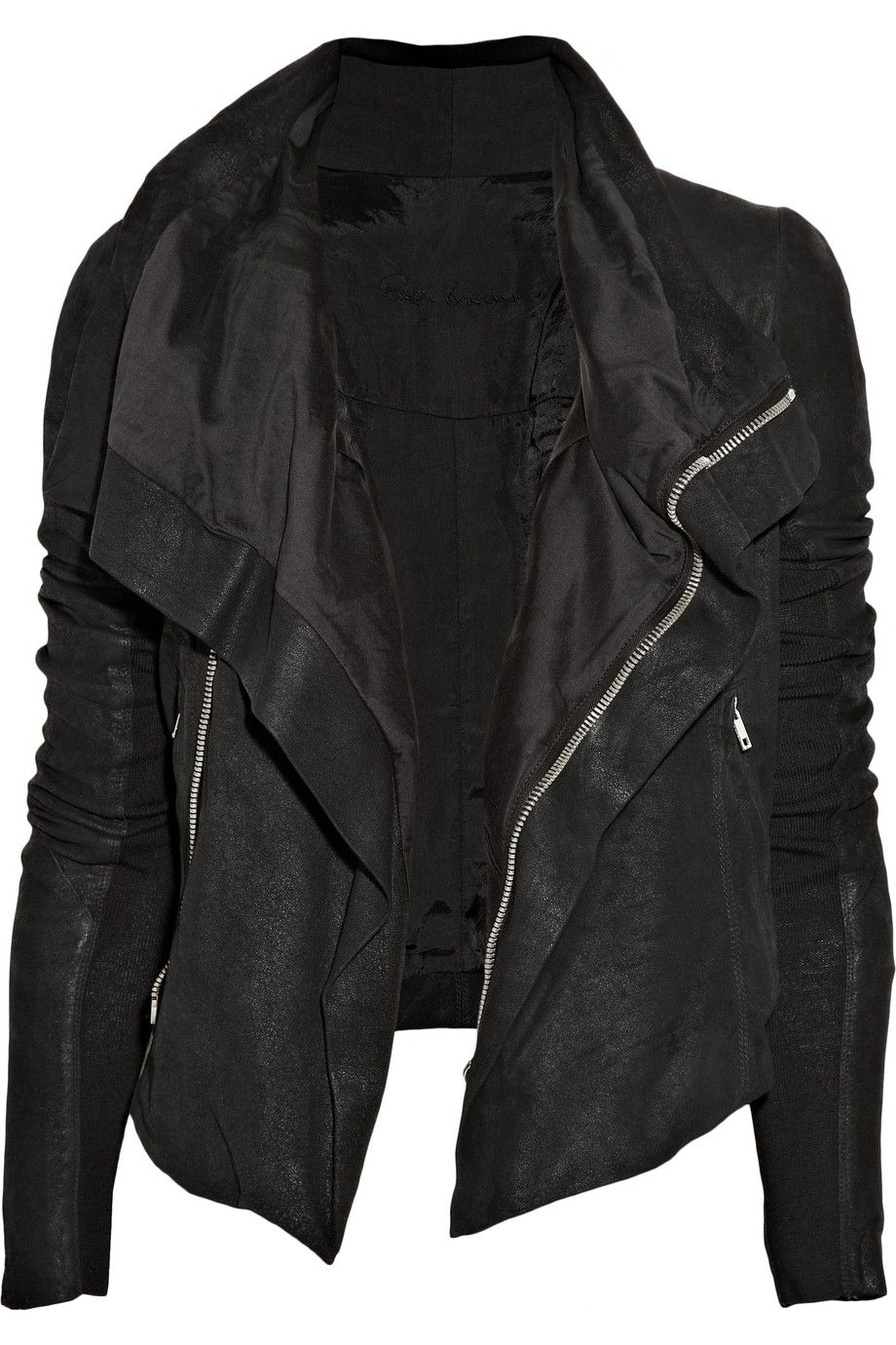 Just got this jacket from Alice & Olivia!!  In dark brown!!!  L O V E!!!!!!