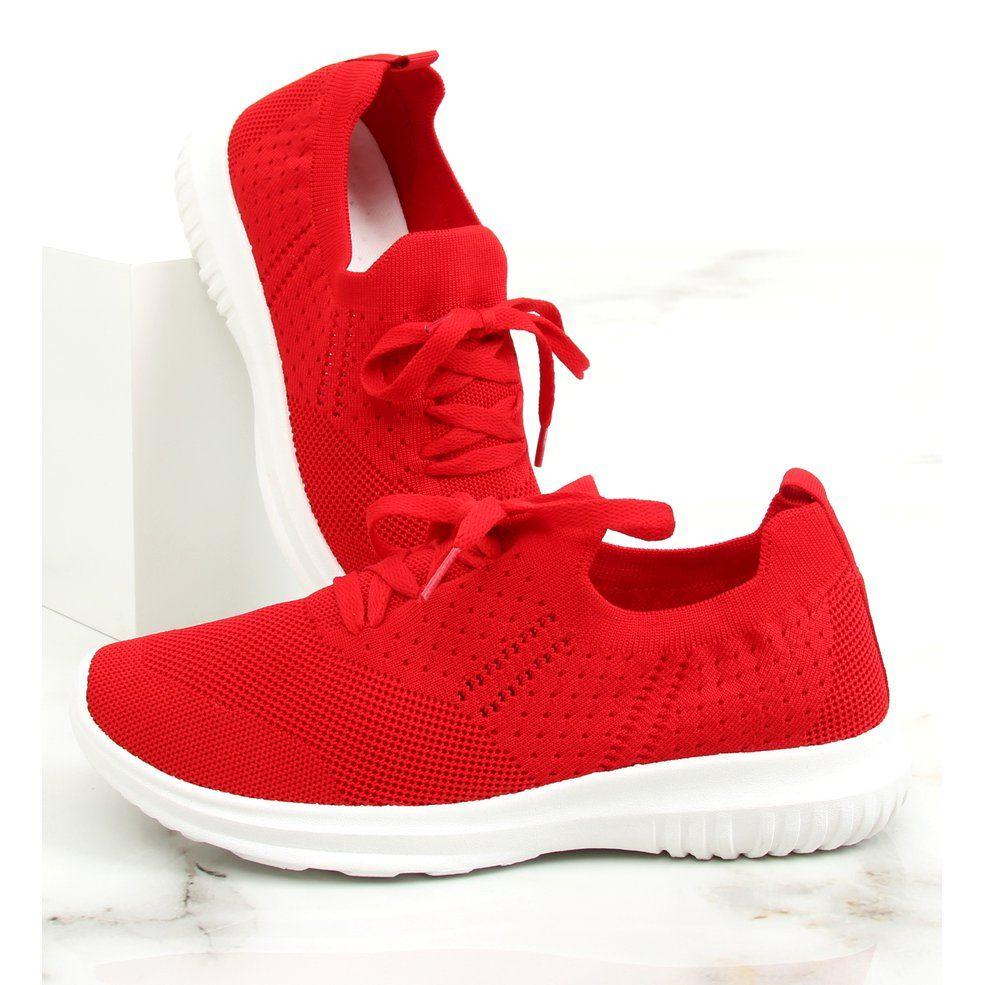 Buty Sportowe Czerwony Lx 9837 Red Czerwone Red Sport Shoes Sport Shoes Shoes
