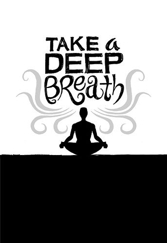Take A Deep Breath Yoga Meditation Yoga Quotes Meditation