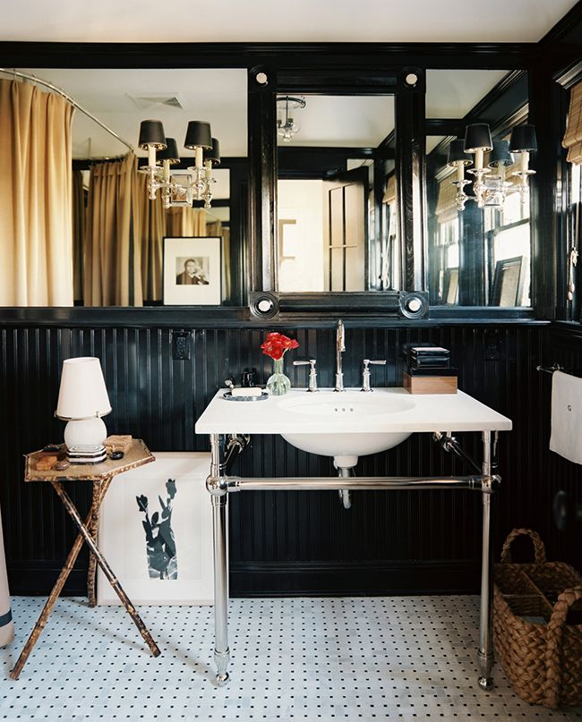 Mark D. Sikes bathroom... An all time fave.