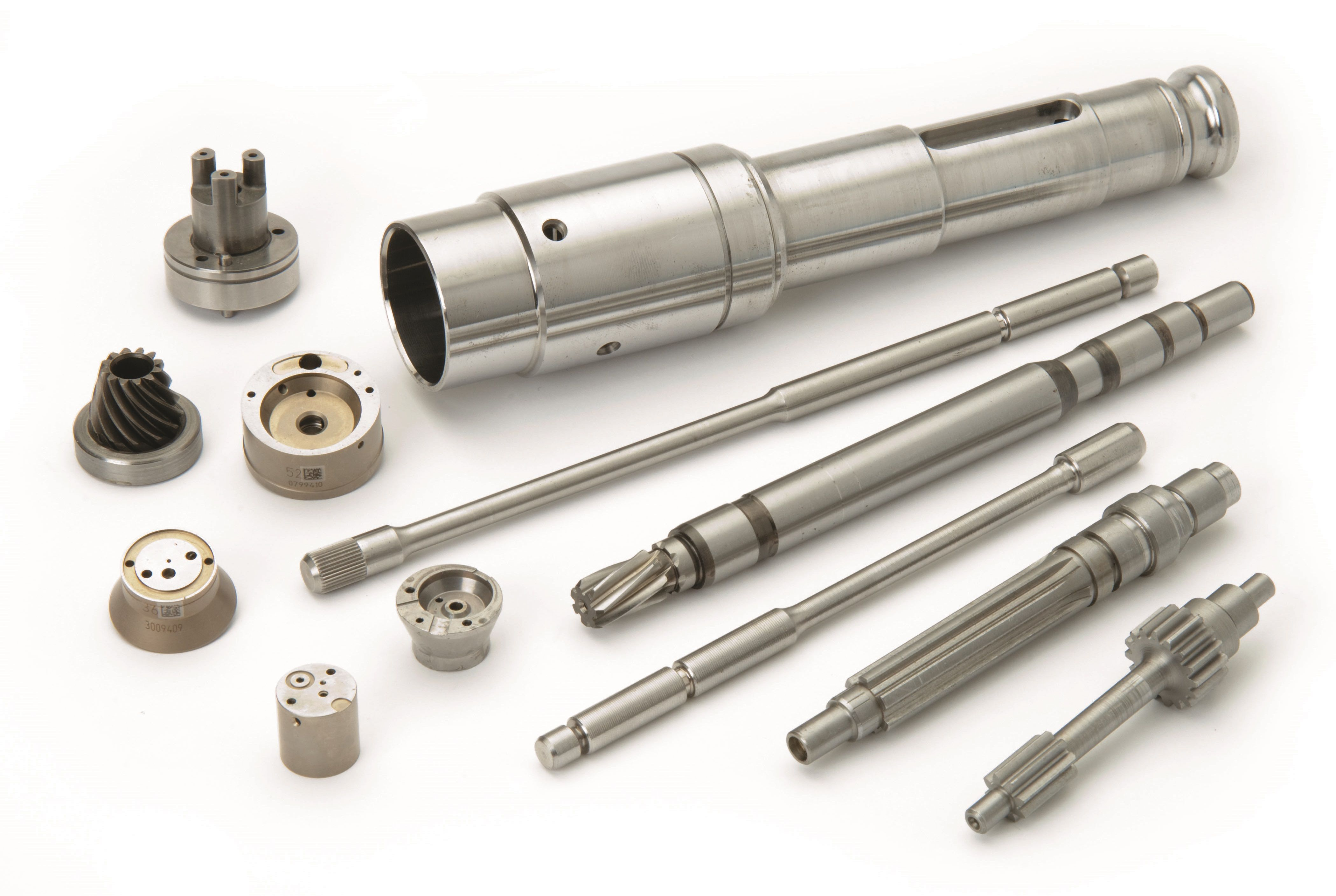 Steel bars and components