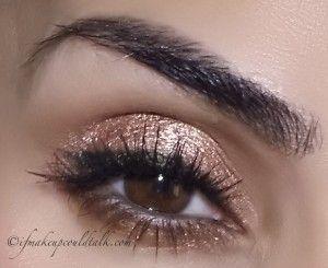 Josie Maran Coconut Watercolor Eye Shadow First Is Rose Gold