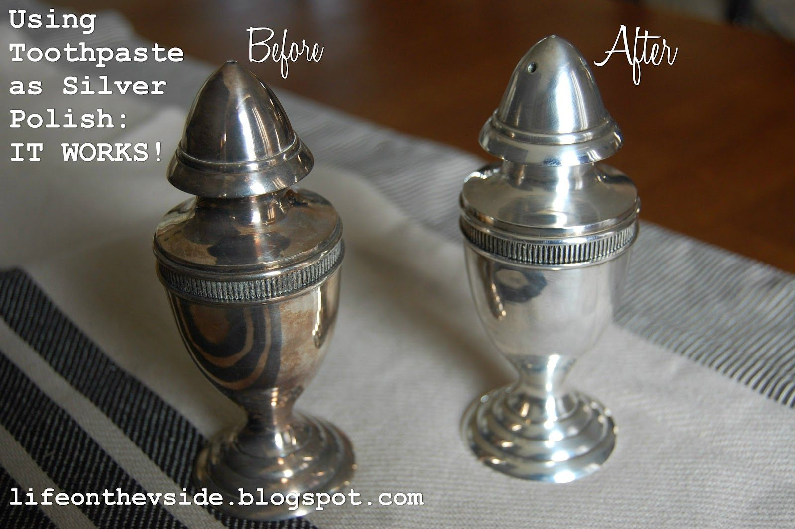 Polishing Silver... Without the Polish How to clean