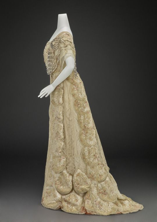 Evening Dress Girolamo Giuseffi 1905-1908 Indianapolis Museum of Art ...