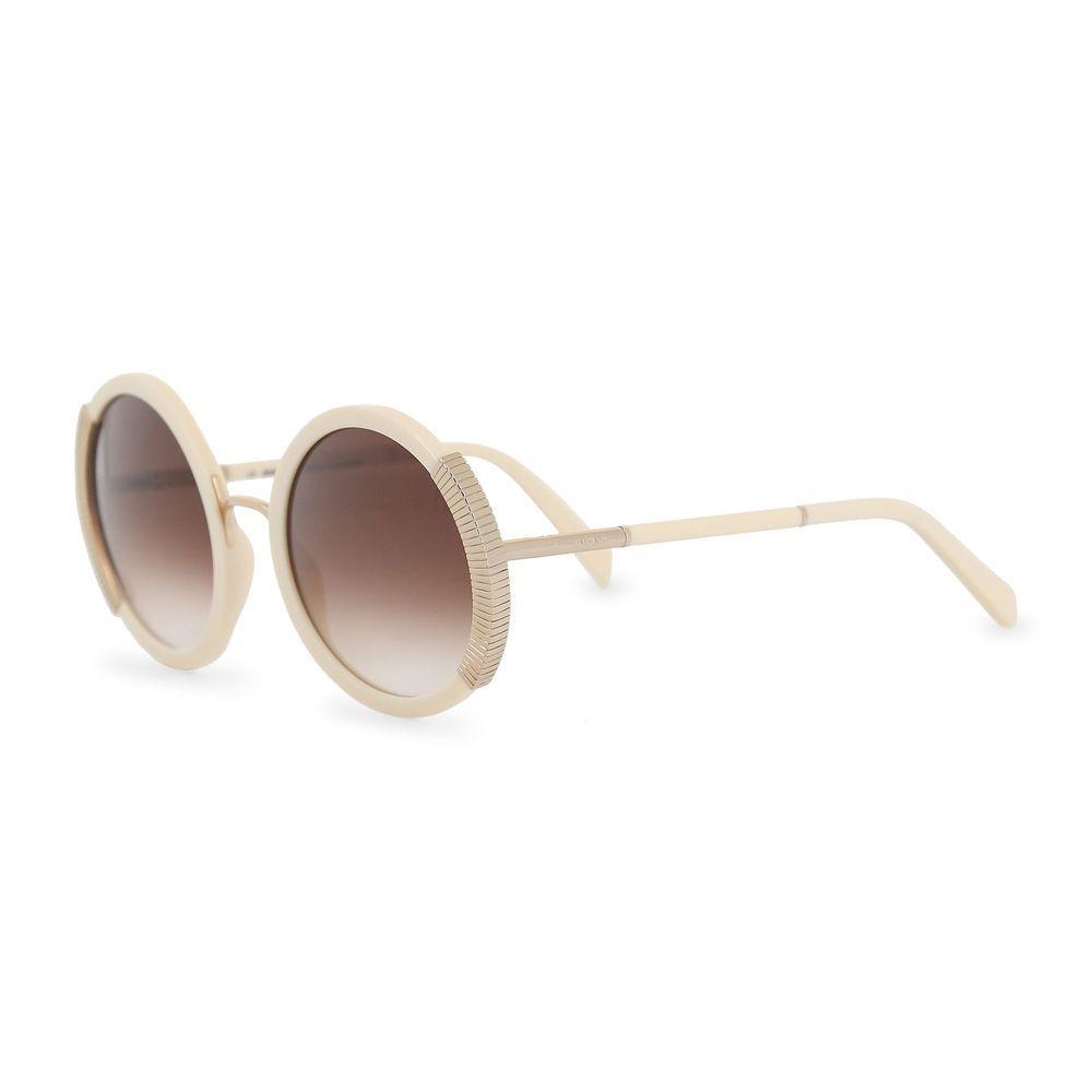 28302685be Balmain Women s Round White Sunglasses Gradient Lenses Acetate Frame UV2   fashion  clothing  shoes  accessories  womensaccessories ...