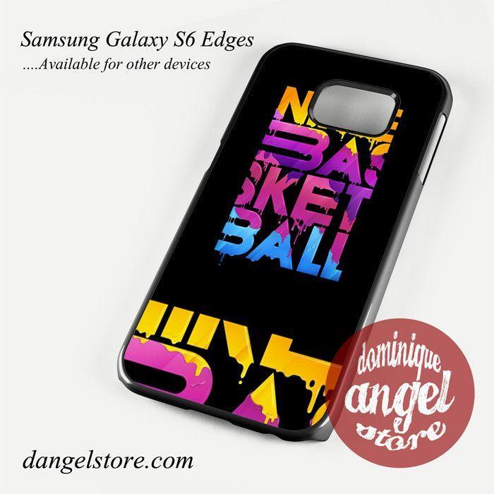 Nike Basket Ball Phone Case for Samsung Galaxy S3/S4/S5/S6/S6 Edge/S6 Edge Plus