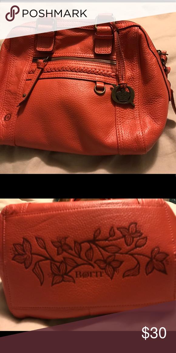 Born Handbag Orange Super Cute Rarely Used Excellent Condition Bags