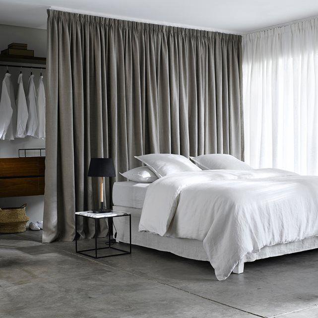 vorhang colin reines leinen dekorative falten in 2019 bedroom pinterest. Black Bedroom Furniture Sets. Home Design Ideas
