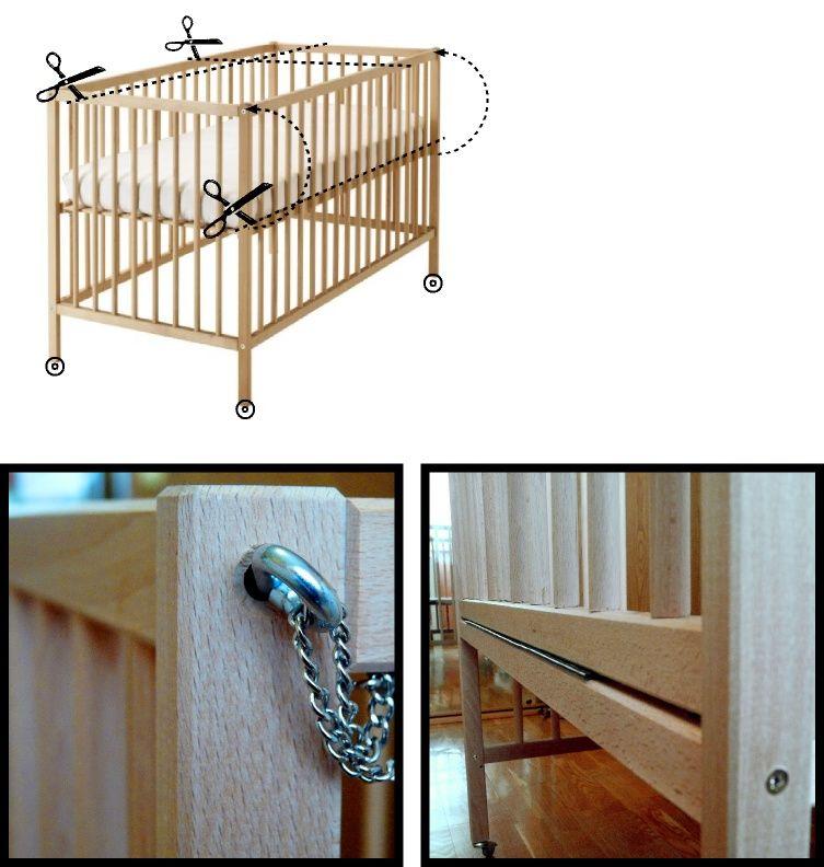 hack item ikea sleeper nursery easy hacks customized crib pregnancy the for co