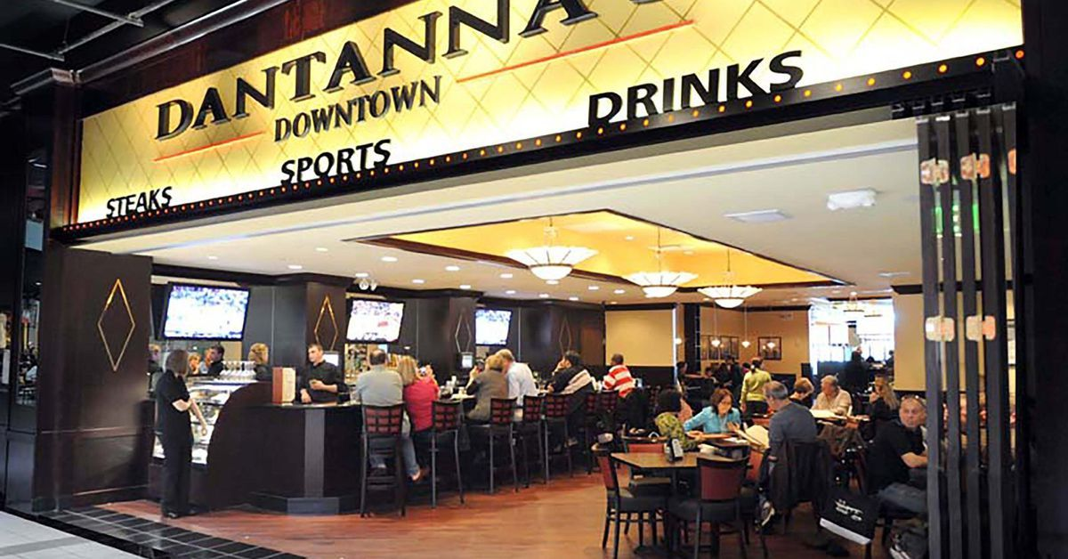 The Downtown Atlanta Location of Sports Bar and Restaurant