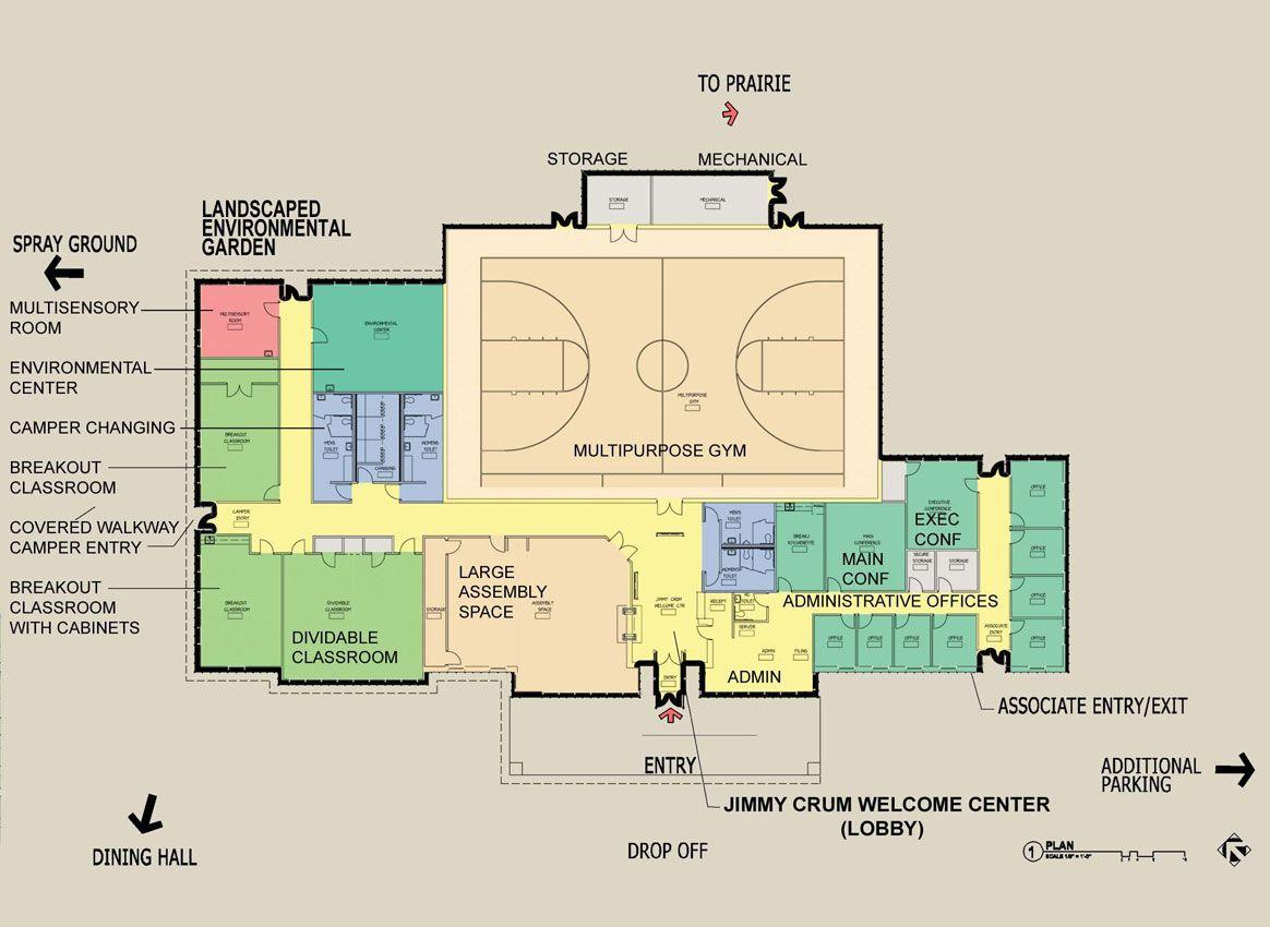 Pin By Travis Roubideaux On Rec Center Community Floor Plans Architecture Plan