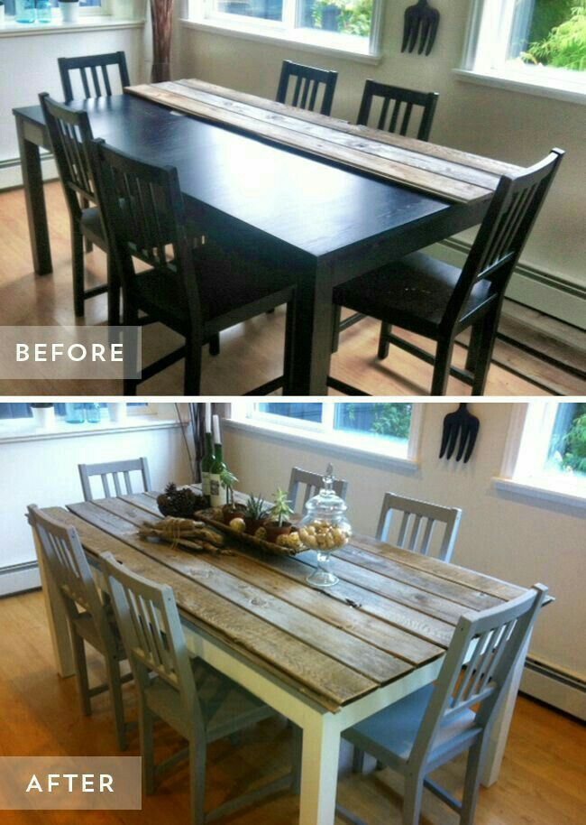 Pinelif Bilgin On Rooms  Pinterest  Diy Furniture Furniture New Restoring Dining Room Table Decorating Inspiration