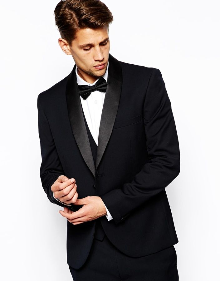 87b5b1c328dda French Connection Slim Fit Shawl Tuxedo Jacket on shopstyle.com ...