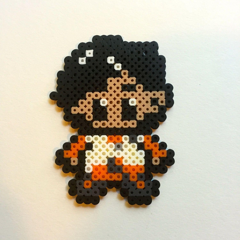 Popular Poe Dameron Star Wars VII Perler Beads by ZandelionsWorkshop