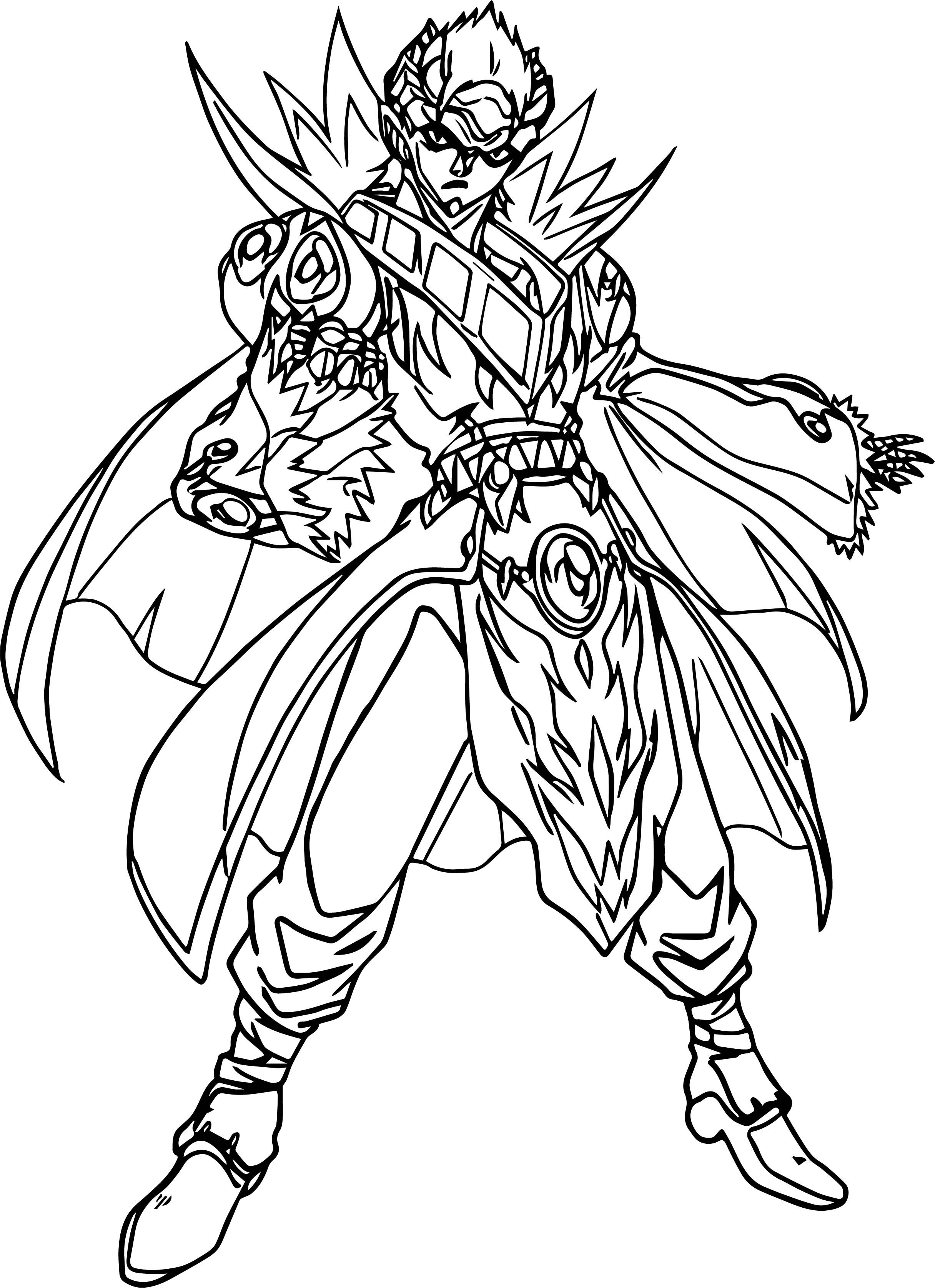 cool Bakugan Gundalian Invaders Coloring Page | Coloring ...