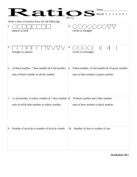Printables Ratios 6th Grade Worksheets 6th grade worksheets davezan ratios davezan