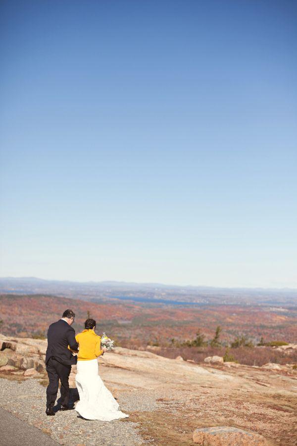 Acadia National Park Wedding   Mountain Top Wedding In Bar Harbor Maine Pinterest Acadia