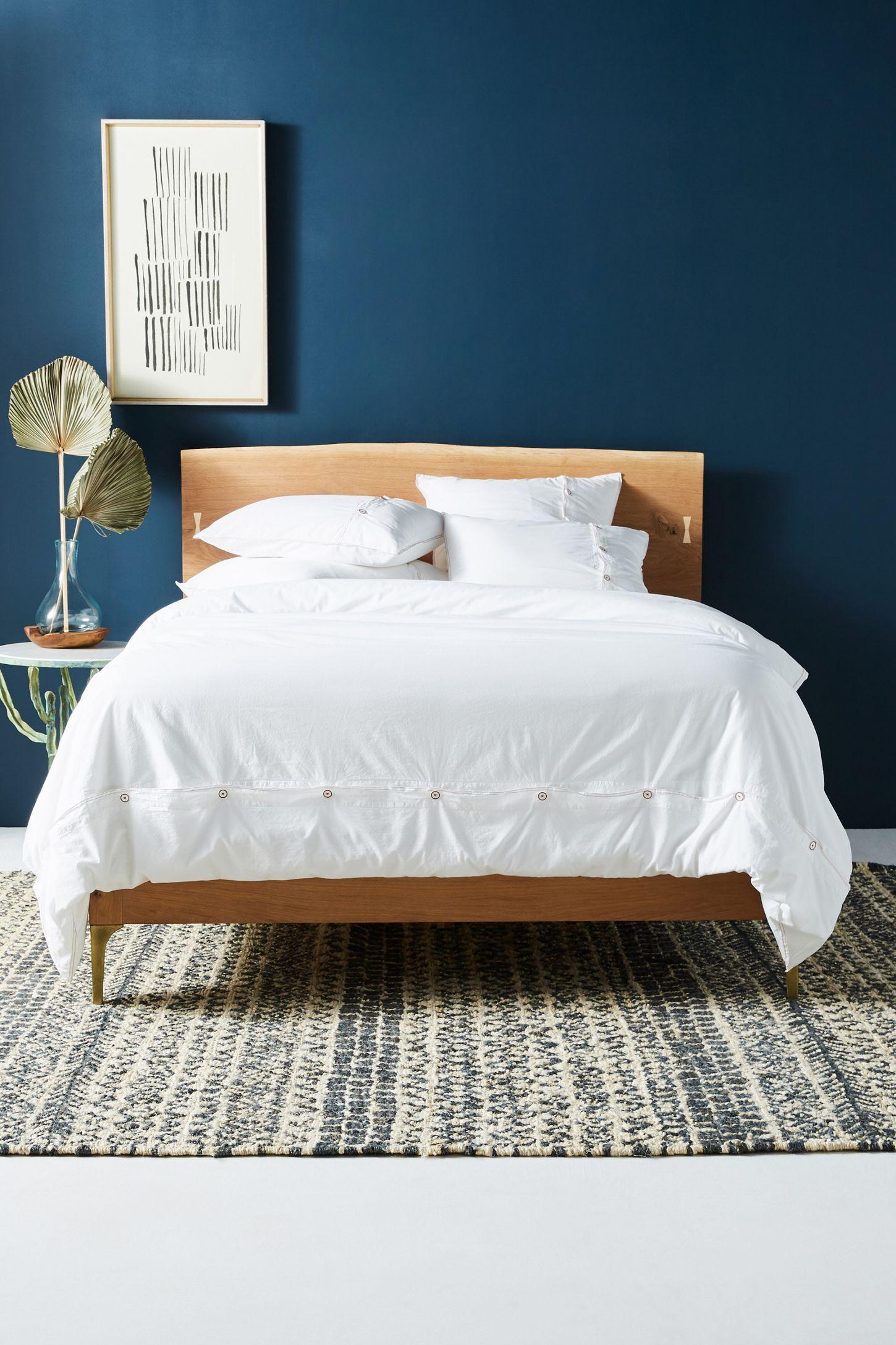 Prana LiveEdge Bed Live edge bed, Unique bedroom