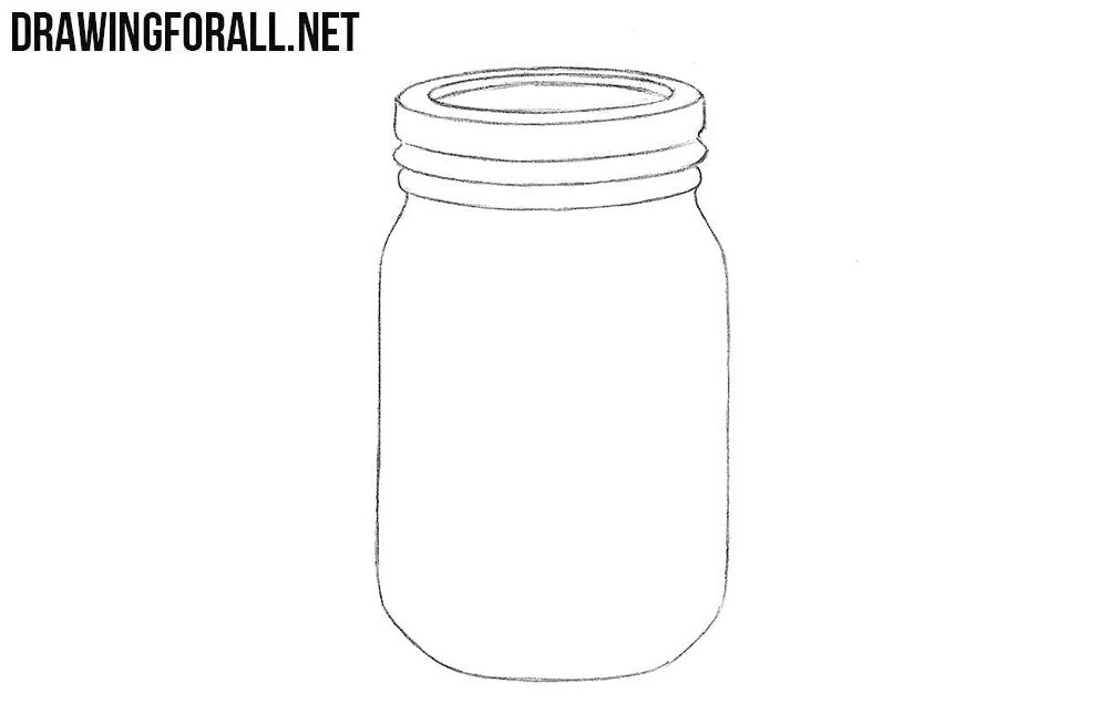 How To Draw A Jar Journaling Drawings Art Crafts