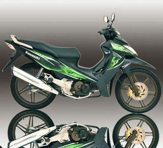 Kawasaki Kaze Zx 130 Vr Motorcycles Pinterest Cars