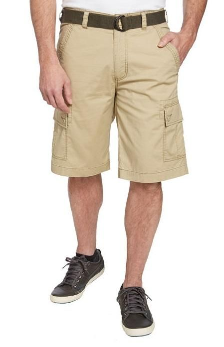 8ae6e3916e Wearfirst Men's Belted Cargo Short | Costco Fashion | How to wear ...