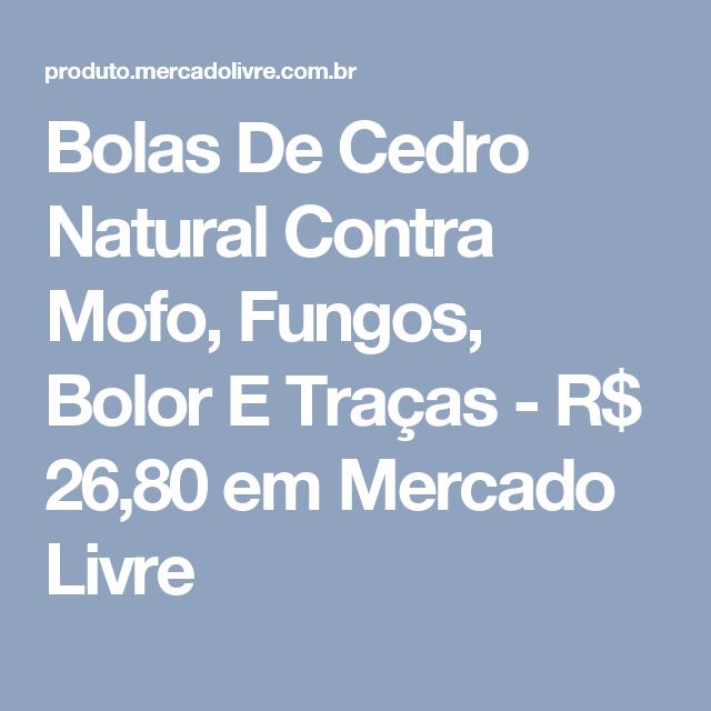 Bolas De Cedro Natural Contra Mofo 6ac5c4a681a9c