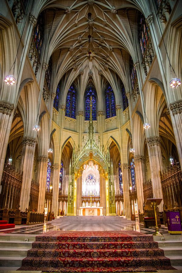 St. Patrick Cathedral, New York by Victor Utama