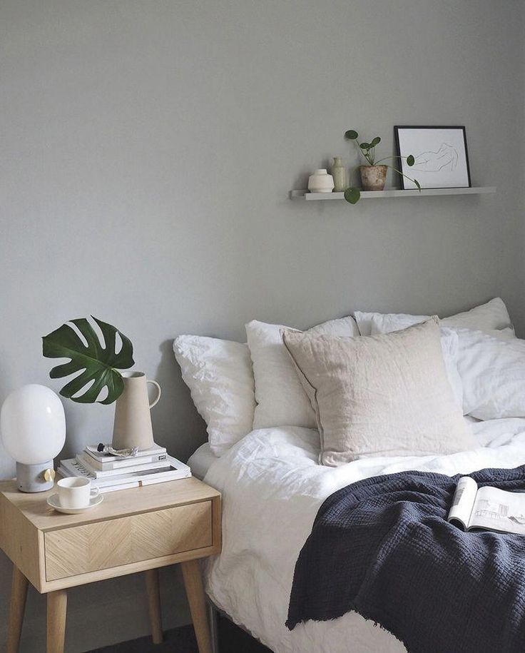 my scandinavian home: Cate St Hills Scandinavian Inspired London Oasis #interio #graybedroomwithpopofcolor my scandinavian home: Cate St Hills Scandinavian Inspired London Oasis #interio #graybedroomwithpopofcolor