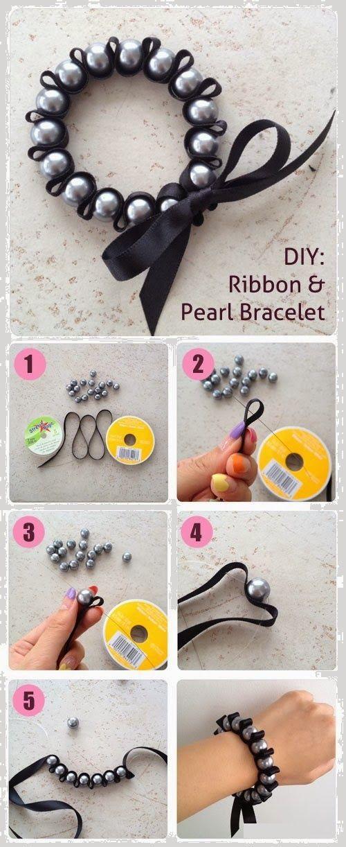 Comment fabriquer un bracelet en perles tissé simple facile ? | Tutoriel de bracelet, Création ...