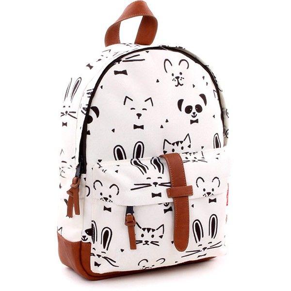 9f819cd993 Kidzroom - rugzak - Black and White Animals - 31 cm  backpack  monochrome