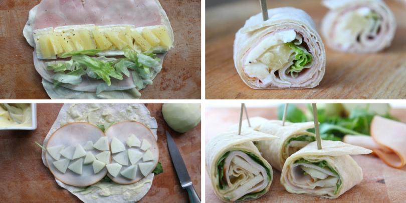 Wonderbaar Twee ideeën voor heerlijke wraphapjes   Voedsel ideeën, Gezond PX-44