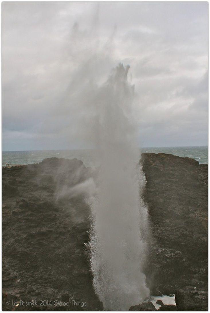 Kiama, Blowhole http://www.bizzylizzysgoodthings.com/2/post/2014/01/postcards-and-morsels-kiama-nsw.html