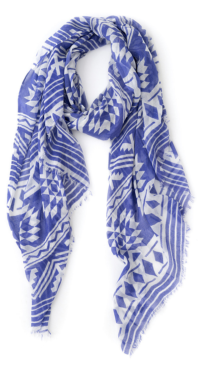 Geo scarf
