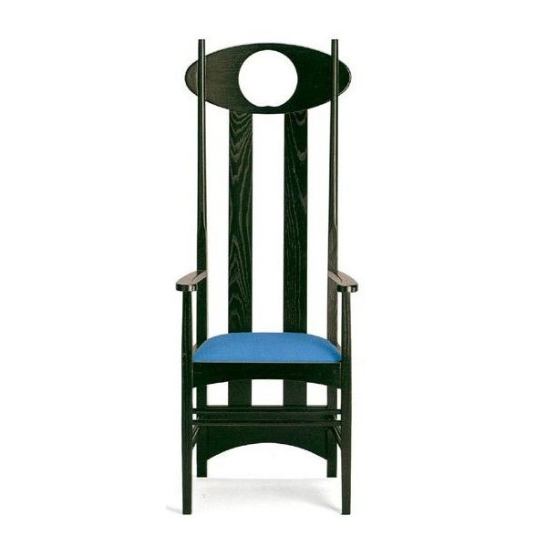 Stately as a chess piece, this chair is a perfect place to contemplate your next move.
