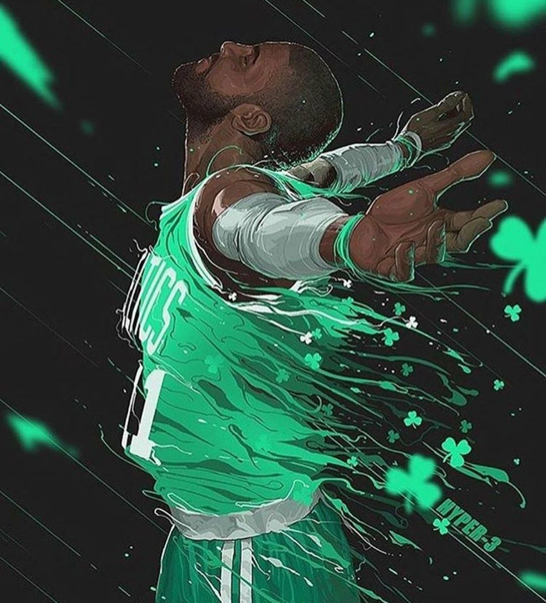 Kyrie Irving Wallpaper: Kyrie Irving Edit Boston Celtics